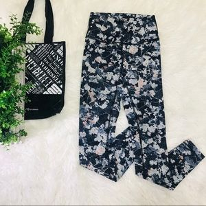Lululemon Wunder Under Leggings Floral Printed 4